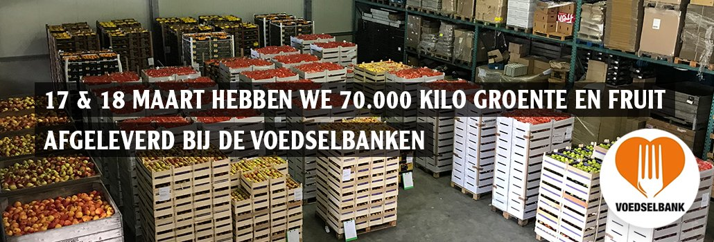 Voedselbank Donatie Schoolfruit